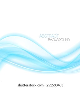 Vector Abstract waves  background. Template  business brochure design