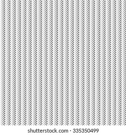 Vector Abstract Zig Zag Pattern. Grey Line Background.
