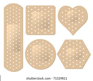 vector adhesive bandage set