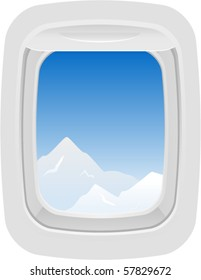 Vector Aircraft Window 1