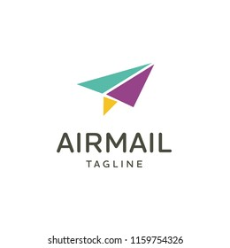 Vector Airplane Travel Logo Emblem Design
