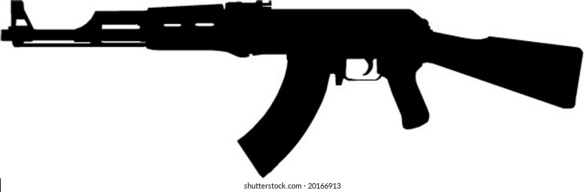 ak 47 vector images stock photos vectors shutterstock rh shutterstock com ak 47 vector arms ak 47 vector illustrator