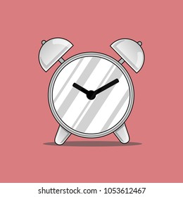 Vector of Alarm clock look so classic.