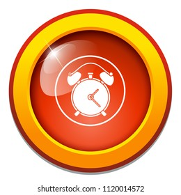 vector alarm system. alert time sign symbol, clock icon