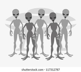 Vector. Aliens.