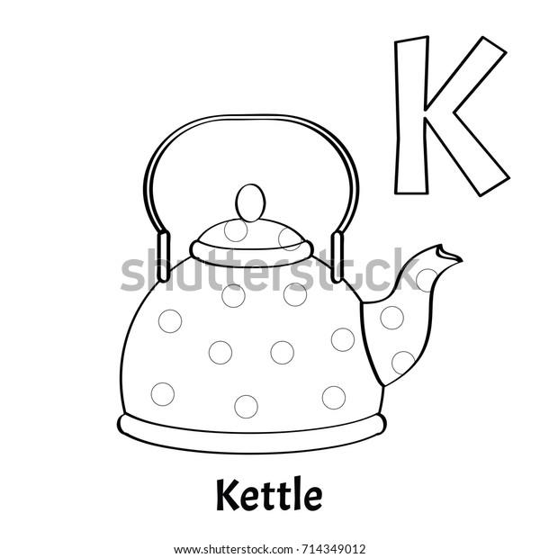 Image Vectorielle De Stock De Vector Alphabet Letter K