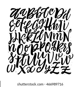 Vector Alphabet Square Background. Hand Lettering and Custom Typography for Designs: Wallpaper Patterns,