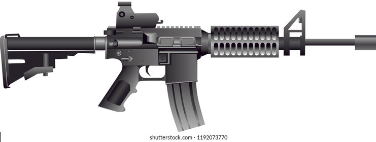 Vector - American AR15 Carbine Rifle