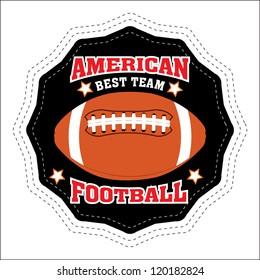Vector American Football Badge / Vector American Football labels / American Football emblems / Vector American Football