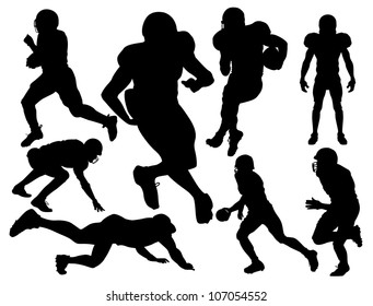 Royalty Free Fussballer Silhouette Stock Images Photos
