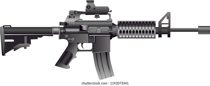 Vector - American M4 Carbine Rifle