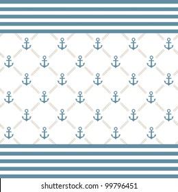 Vector anchor background