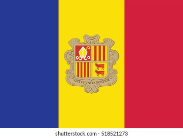 Vector Andorra flag, Andorra flag illustration, Andorra flag picture, Andorra flag image,