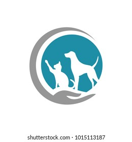 vector animal and pet logo design abstract modern