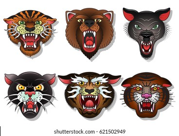 Tiger Tattoo Images Stock Photos Vectors Shutterstock