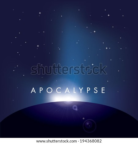 Vector Apocalypse Wallpaper From Satellite View