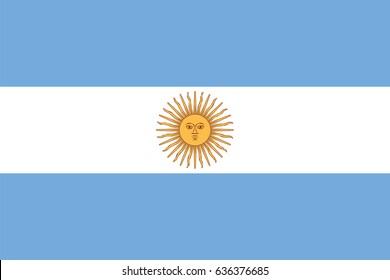 Vector Argentina flag, Argentina flag illustration, Argentina flag picture, Argentina flag image