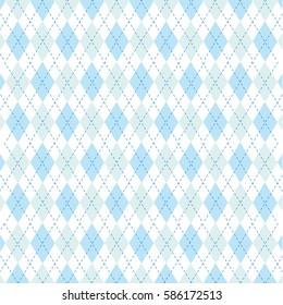 Vector Argyle Pattern Illustration