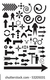 vector arrow symbols