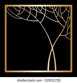 art deco tree images stock photos vectors shutterstock rh shutterstock com art deco tree vector art deco tree