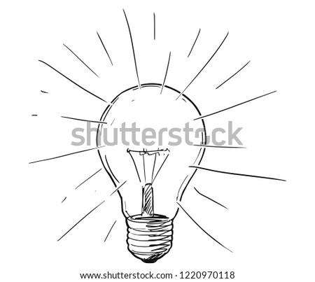 Vector Artistic Conceptual Pen Ink Sketch Stock Vector Royalty Free