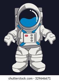 vector astronaut design