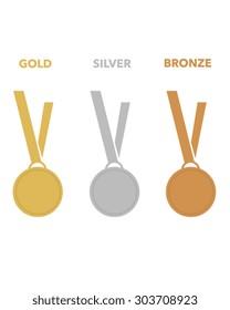 Vector Athletic Championship Medal Set