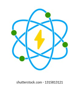 vector atomic icon
