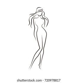 Vector autline women logo