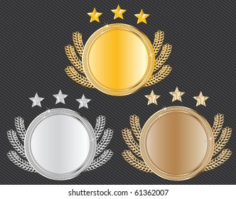 vector award medals