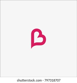 Vector of B Love Logo