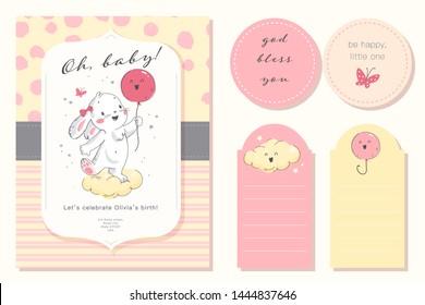 Ilustraciones Imágenes Y Vectores De Stock Sobre Baby Girl