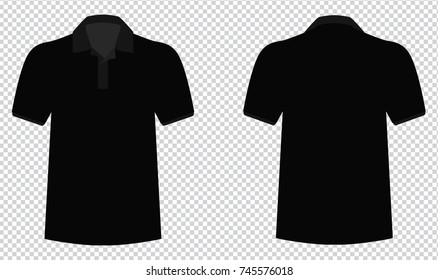 Vector back and front polo shirts for creative and design. You can change easy colors & sizes. High resolution.