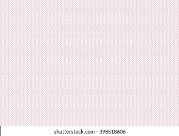 Vector backgroud - guilloche texture - pink pattern. For certificate, voucher, banknote, money design, currency, note, check, ticket, reward.