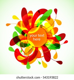 vector background, abstract background, banner