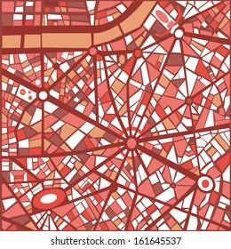 パリ 地図のイラスト素材画像ベクター画像 Shutterstock