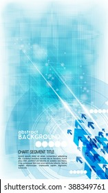 Vector background abstract technology