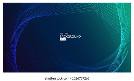 Vector background abstract technology communication and business concept in blue design for for your web site design map logo, app, ui vector eps10, concept Illustration.