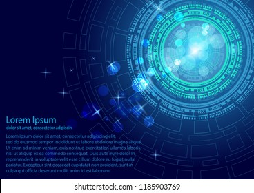 Vector background abstract, technology communication, concept, digital business