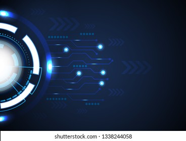 vector background abstract technology communication concept.