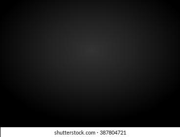 Vector background. Background black gradient. Eps 10.