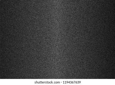vector background of black jeans denim texture