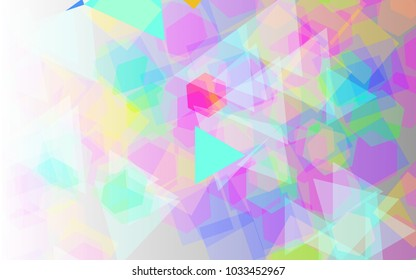 vector background in bright colors