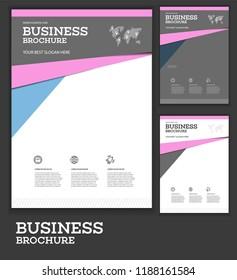 Vector Background Brochure Template