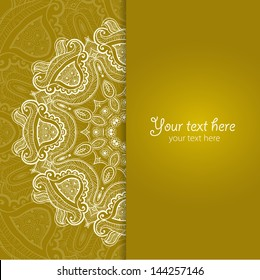 Vector background for celebrations, holidays, sewing, arts, crafts, scrapbooks, setting table.