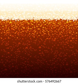 Vector background of cola bubbles. Sparkling bubbles