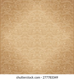 Vector background from decorative elements