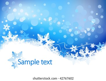 Vector background defocused light, no size limit. proportion of A4 format horizontal.
