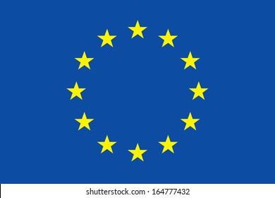 vector background of european flag