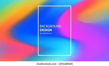 Vector Background With The Form Of Colorful And Elegant Gradient Layer. Vector EPS .10 - Vector - Vector